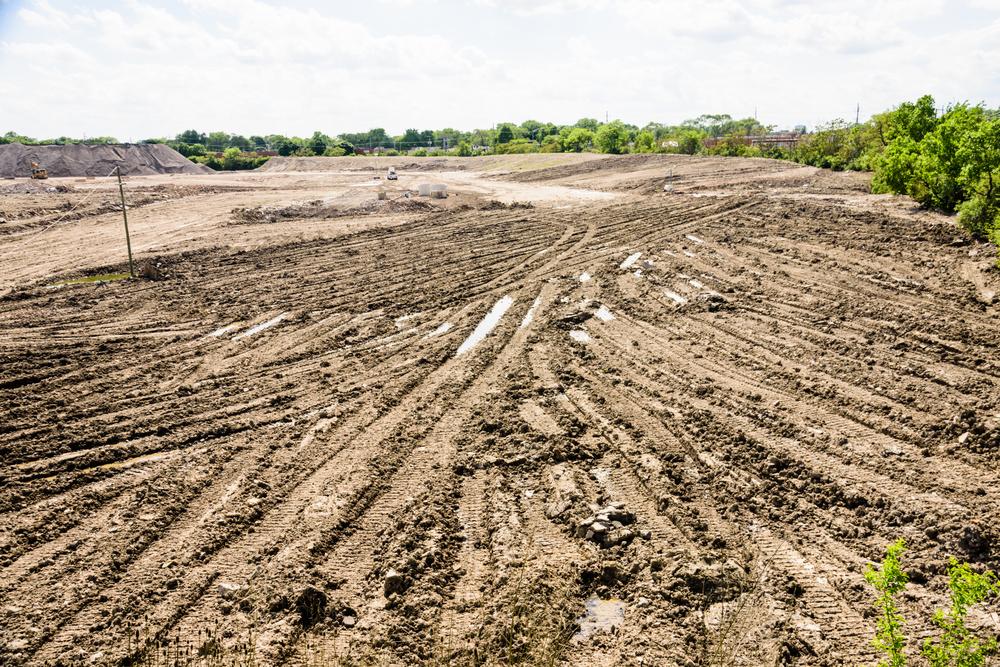 New land subdivision